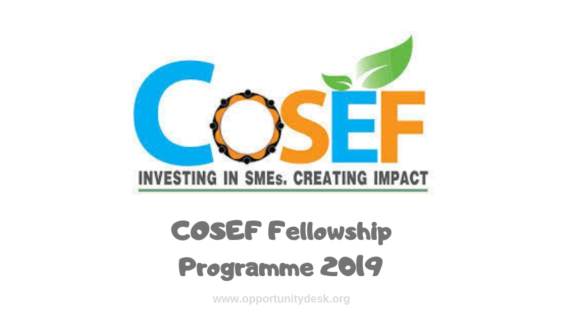COSEF Fellowship Program 2019 for East Africans