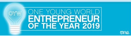 One Young World's Business owner of the Year Award 2019 for young Business owners