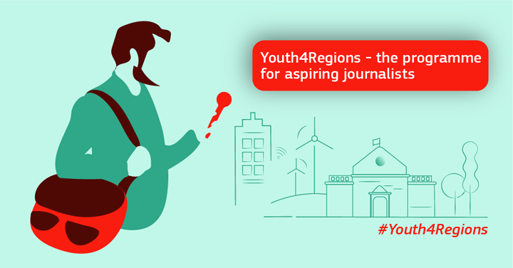 European Commission #Youth 4Regions Program 2019 for Striving Reporters (Fully-funded)
