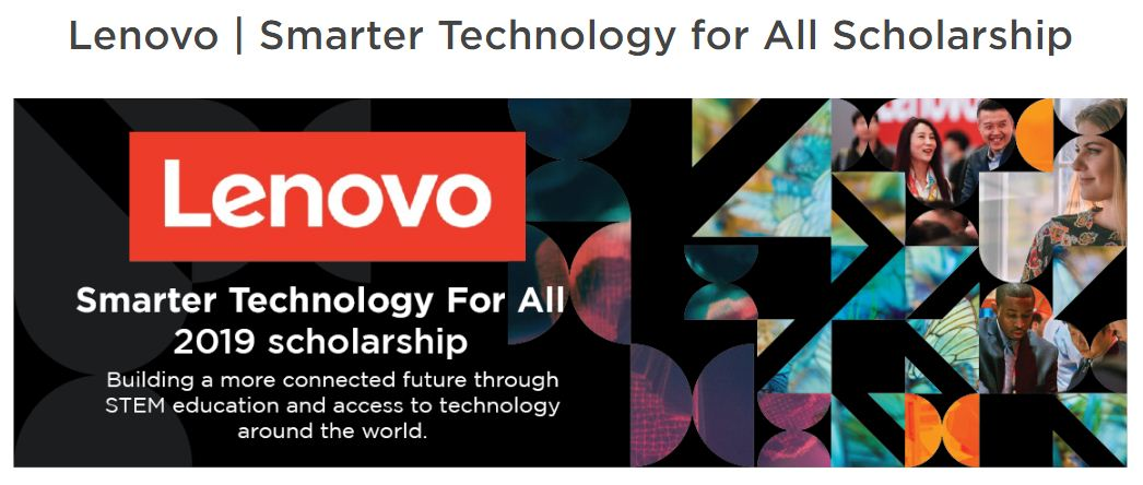 Lenovo Smarter Innovation for All Scholarship to participate in the One Young World 2019 Top (Fully-funded to London, UK)