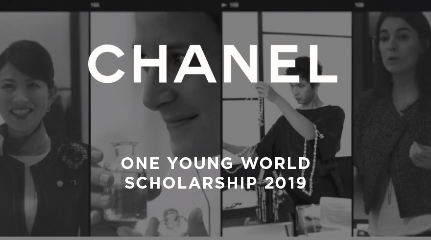 CHANEL One Young World Scholarships to go to OYW Top 2019 in London (Fully-funded)