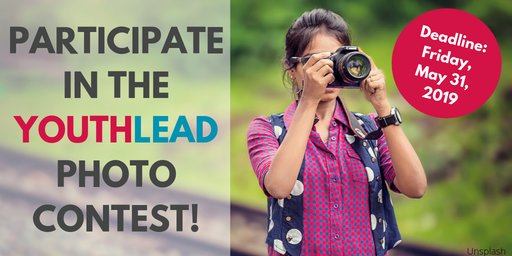 USAID YouthLead Picture Contest 2019 for young Changemakers
