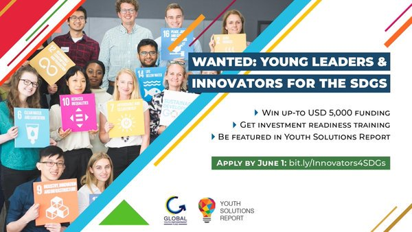 JCI/SDSN Program 2019 for Young Leaders and Innovators for the SDGs (As Much As USD $5,000 in financing)