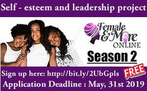 Female And More (FAM) Self-confidence and Management Program 2019 Online Season 2
