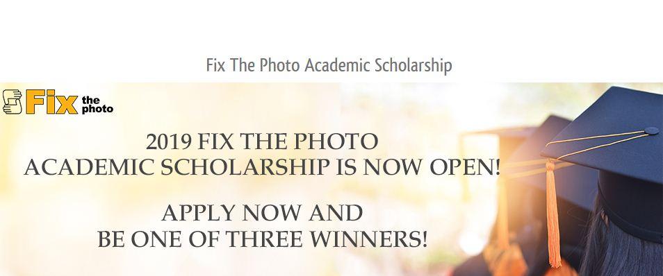 Repair The Picture Academic Scholarship 2019 ($ 1,500 reward)