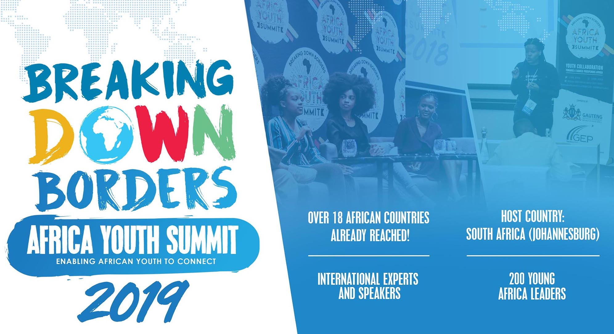 Breaking Down Borders Africa Youth Top 2019 (Totally moneyed to South Africa)