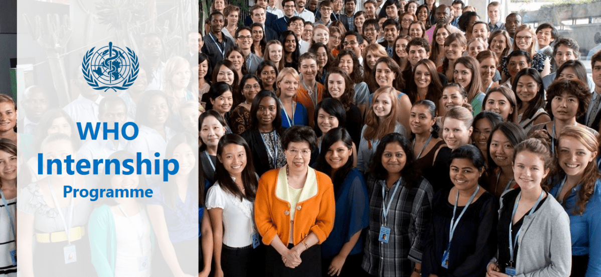 World Health Organisation (WHO) Internship Program 2019
