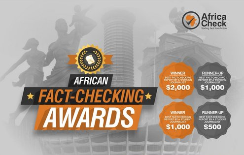 African Fact-Checking Awards 2019 for Journalistic Quality in Africa (USD4,000+ in Prizes)