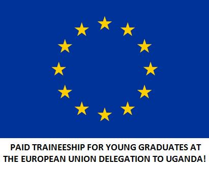 European Union Delegation to Uganda Traineeship 2019 for young Ugandan graduates (Moneyed)