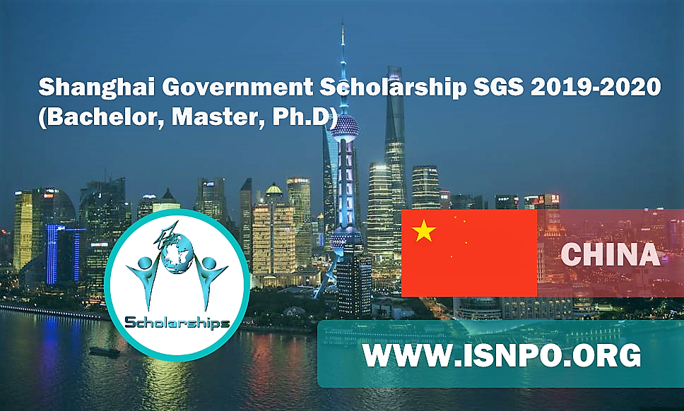 Shanghai Federal Government Scholarship SGS 2019-2020