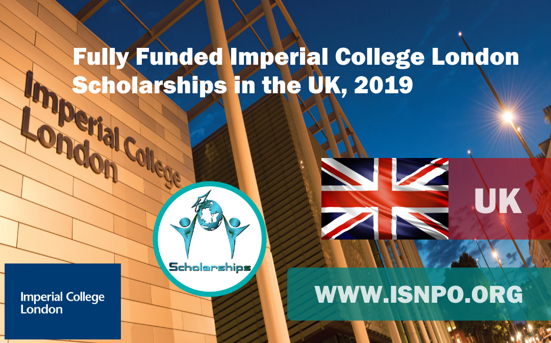 Totally Moneyed Imperial College London Scholarships in the UK, 2019