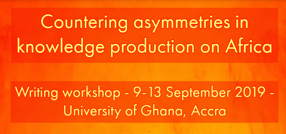 Require Applications: Countering Asymmetries in Understanding Production on Africa Composing Workshop 2019