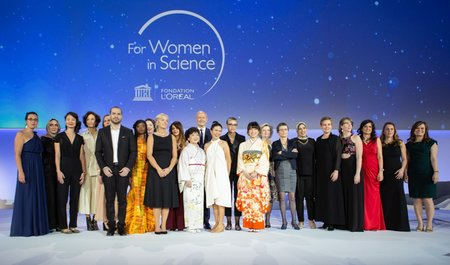 L'Oréal-UNESCO for Females in Science Awards 2019/2020 for female scientists (EUR100,000 reward)