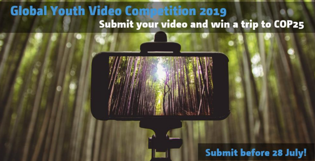 UNFCCC Worldwide Youth Video Competitors 2019 (Win a financed journey to POLICE OFFICER 25 in Chile)