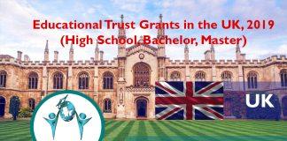 Educational Trust Grants in the UK, 2019