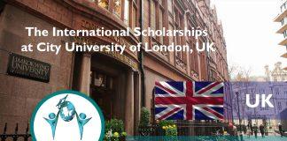 The International Scholarships at City University of London, UK