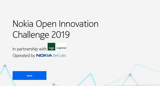 Nokia Open Development Obstacle 2019 for Web of Things (IoT) Start-ups (100,000+ $USD prize money)