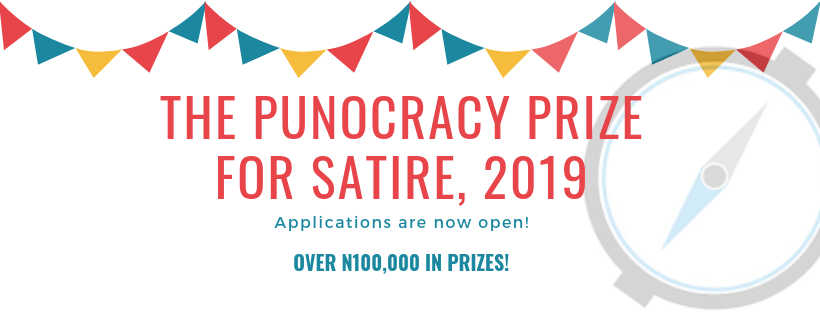 Punocracy Reward for Satire (PUPPIES) Composing Competitors 2019 for Nigerians (Approximately N100,000 in rewards)