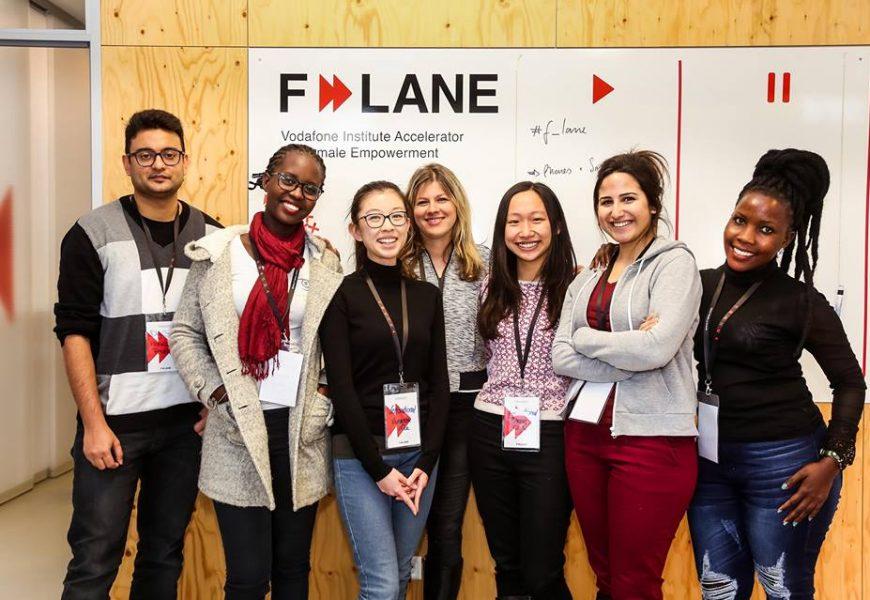 Vodafone Institute F-LANE Velocity Program for Female Empowerment 2019 (Approximately 12,000 EUR)