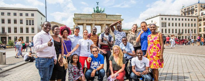 2019 enpact Mentoring Effort for Young Business Owners from Africa (Moneyed to Berlin, Germany)