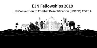 Earth Journalism Network 2019 Reporting Fellowships to the UNCCD POLICE OFFICER14(Fully-funded)