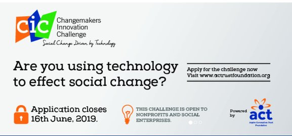 ACT Structure Changemakers Development Obstacle 2019 for social business in Africa.