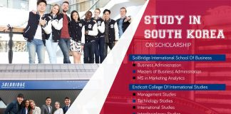 Research Study in South Korea on Partial Scholarship– September 2019 for Bachelors and Postgraduate Degrees