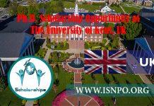 PhD Scholarship Chance at The University of Kent, UK
