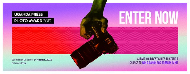 Uganda Press Image fourth Young Professional Photographer Award 2019 for Ugandan photojournalists & & professional photographers (Opportunity to win a Canon EOS 1300 D set)