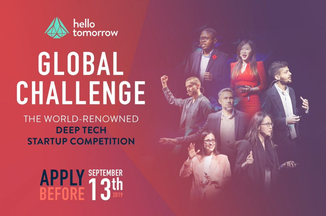 Hi Tomorrow International Difficulty 2019 for Deeptech Business Owners Worldwide (EUR100 K Grand Reward and more)