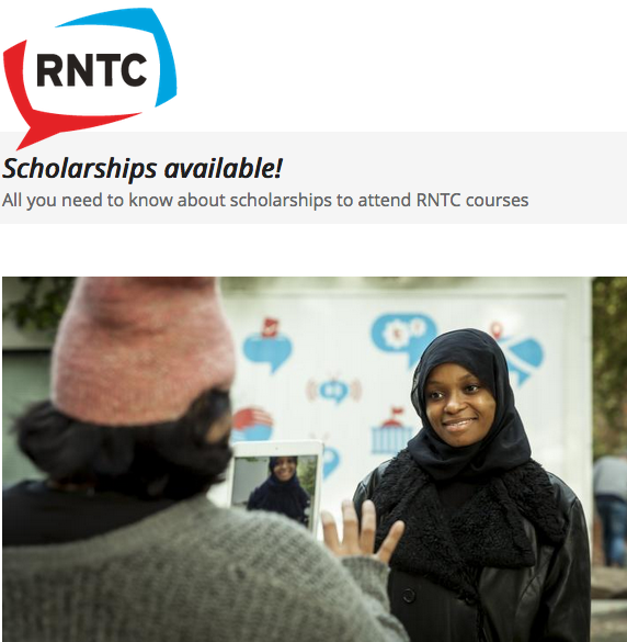 RNTC Scholarships 2020 for media and interactions experts to study in the Netherlands (Completely Moneyed)