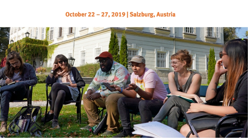 Salzburg Global Online Forum for Young Cultural Innovators in Canada 2019 (Fully-funded)