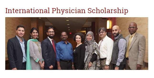 American Academy of Hospice and Palliative Medication (AAHPM) International Doctor Scholarship 2020 (as much as $5,000)