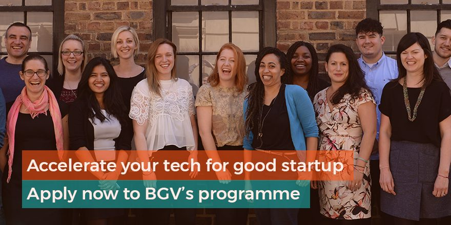 Bethnal Green Ventures Fall 2019 Program for Tech Startups (Approximately ₤20,000)