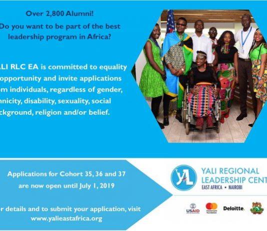 YALI Regional Management Center Fellowship Program 2019 for East Africans– Associate 35,36 & &(*********************** )( Completely Moneyed to Nairobi, Kenya)