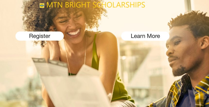 MTN Ghana Structure Bright scholarship plan 2019 for young Ghanaian youths