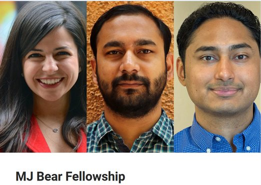 2019 MJ Bear Fellowships for Early-Career Digital Reporters (Totally Moneyed)