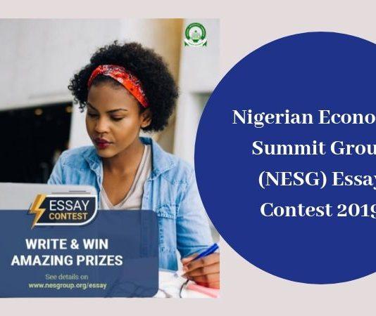 Nigerian Financial Top Group (NESG) Essay Contest 2019 for Undergrads in Nigeria