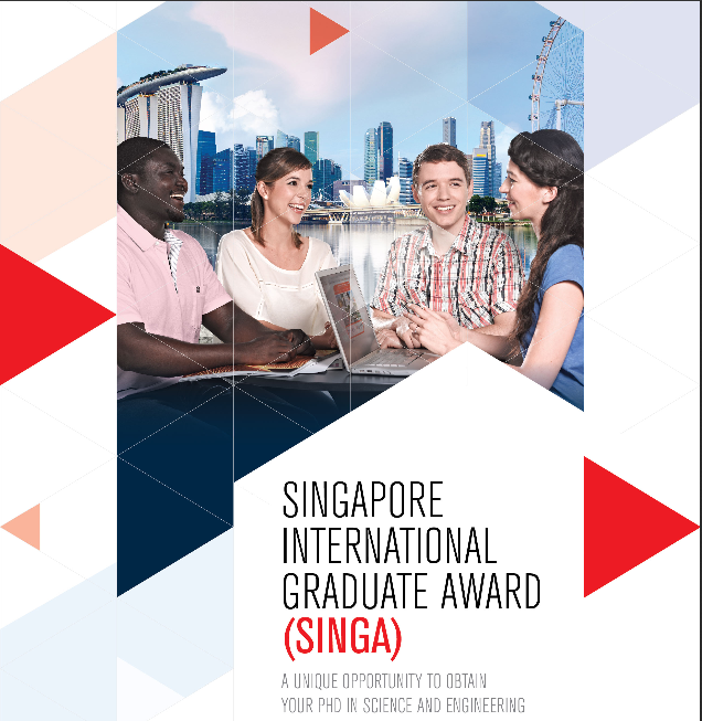 Singapore International Graduate Award 2020 Scholarships for PhD research study in Singapore (Completely Moneyed)