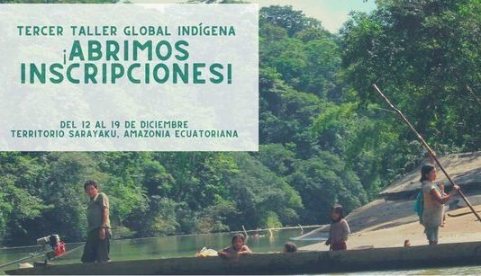 Dejusticia Third GLobal Indigenous Workshop 2019 for Native Leaders (Completely Moneyed)