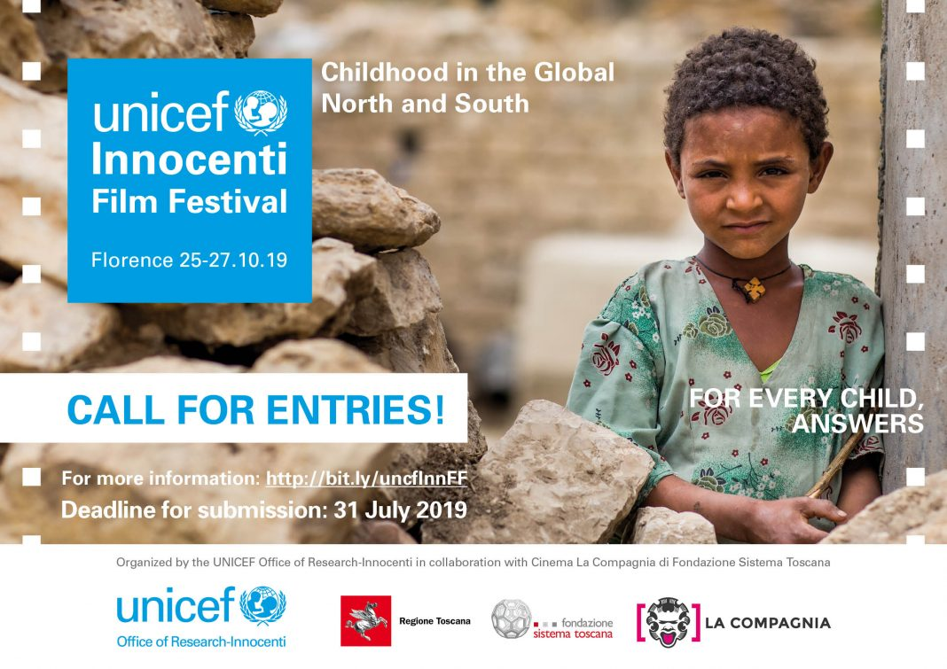 Require Entries: UNICEF Innocenti Movie Celebration 2019 for Filmmakers