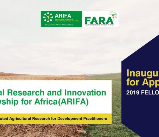 Agricultural Research Study and Development Fellowship for Africa 2019 (totally moneyed for Masters and Brief Courses)