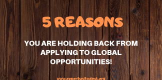 5 Factors You Are Keeping Back from Using to Worldwide Opportunities