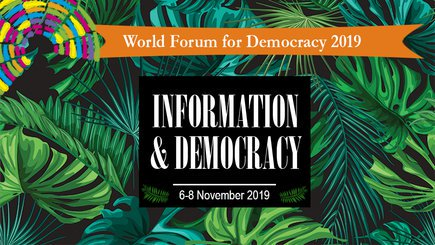 Council of Europe's 2019 World Online Forum for Democracy- Youth Delegation to Strasbourg, France (Totally Moneyed)