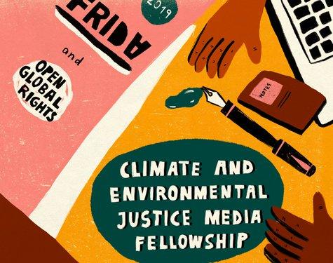 FRIDA/OpenGlobalRights Environment & & Environmental Justice Media Fellowship 2019