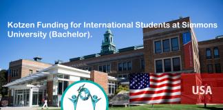 Kotzen Financing for International Trainees at Simmons University