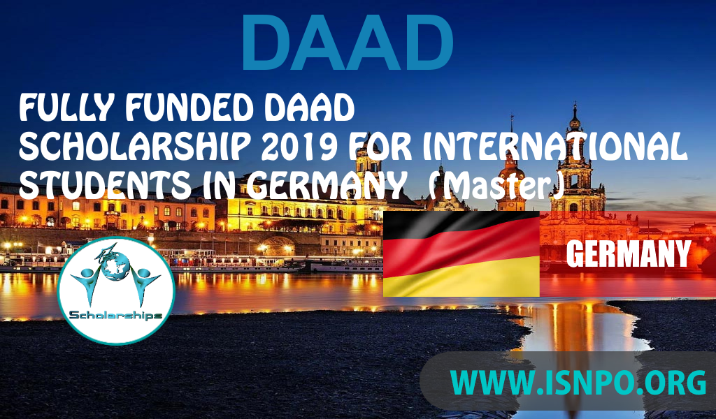 Completely Moneyed DAAD Scholarships Germany 2019