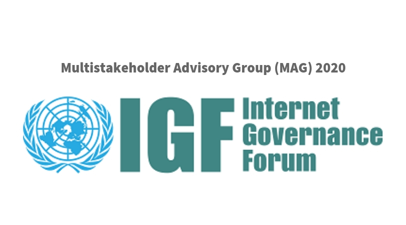 Web Governance Online Forum Multistakeholder Advisory Group (MAG) 2020