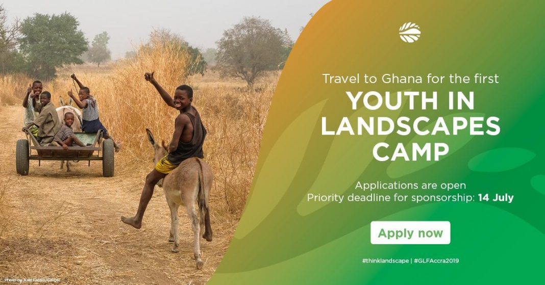 Worldwide Landscapes Online Forum (GLF) Youth in Landscapes Camp 2019– Accra, Ghana (Sponsorships Available)
