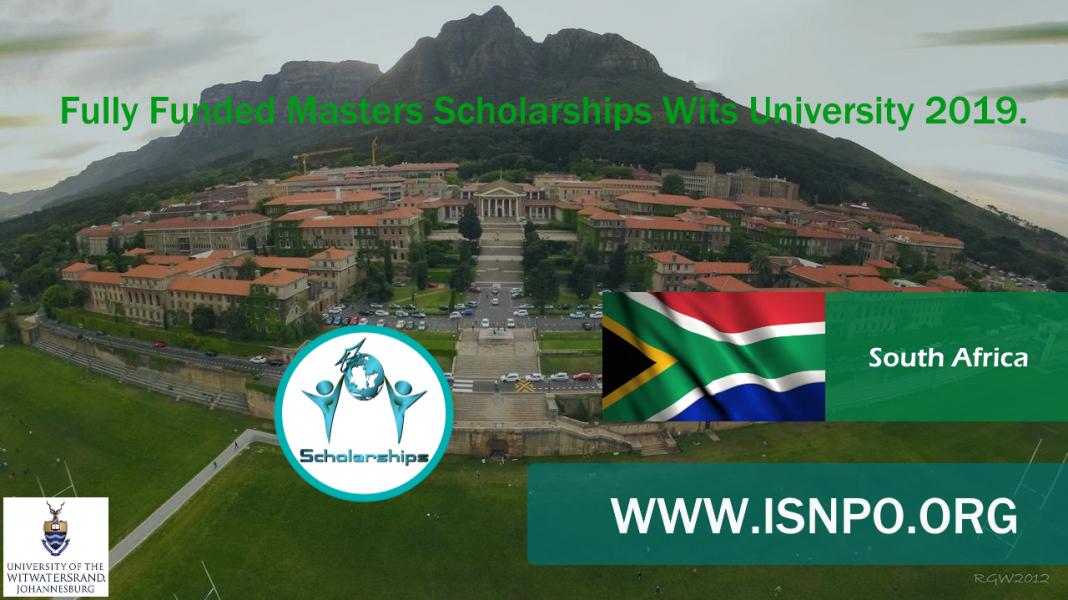 Totally Moneyed Masters Scholarships Wits University 2019